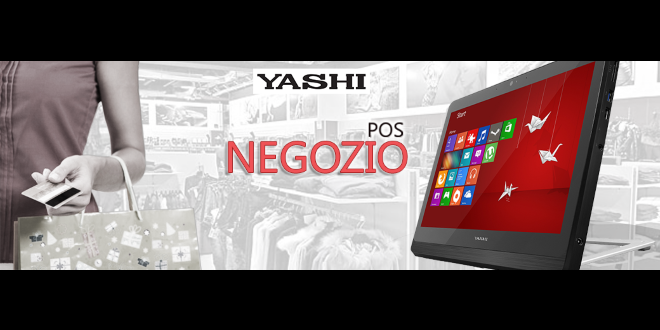 Occupandoci di fornitura di software e hardware per Punti Vendita, esaminiamo spesso i prodotti che le aziende ci chiedono di testare. E' il caso questa volta della Yashi, che lancia il nuovo All-In-One Touch Screen che prende il nome di Yashi POS Negozio.