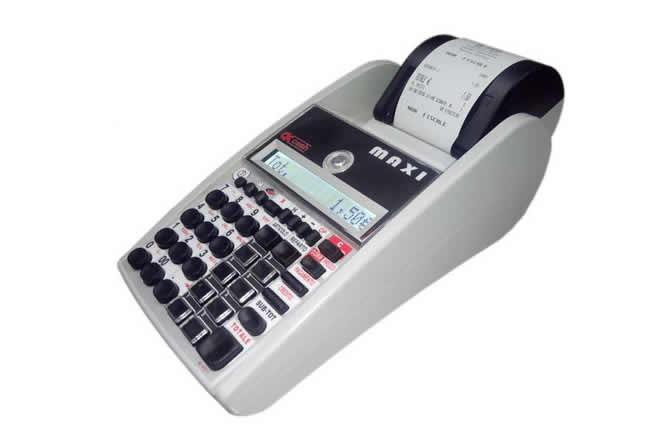 OK Cash Maxi è un registratore di cassa entry level perfetto perfetto per gli ambulanti e in tutte quelle situazioni in cui si richiede un registratore di cassa con una batteria dalla lunga durata. Una sola carica ha un'autonomia di 2 mesi.