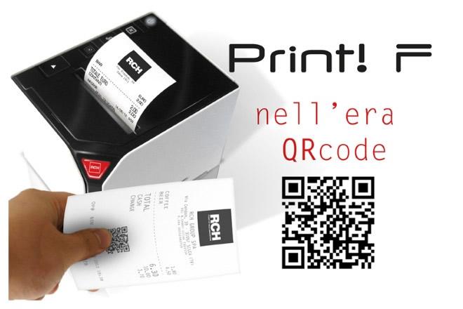 Stampa del QRCode semplificata con RCH PrintF