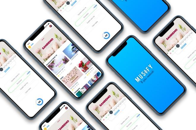 Musify, un'app per Sanremo