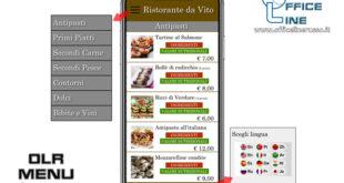 OLR menu evita-contatto